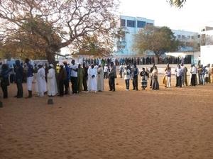 Saint-Louis : Les jeunes votent massivement à Justin Ndiaye