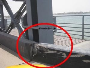 Alerte : Des automobilistes imprudents égratignent le pont Faidherbe