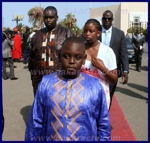 Flash info: Photos| Arrivée des enfants du président Macky Sall