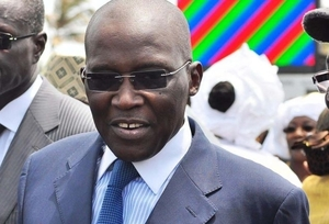 Photos  Ousmane Masseck, Bamba Dièye et Racine Sy à l'investiture de Macky Sall