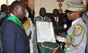 ECOUTEZ. La prestation de serment du chef de l'Etat Macky Sall