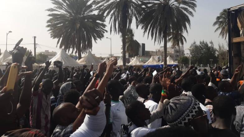 Marche de protestation de Nio Laànk : L'humeur Citoyenne envahit les rues de Dakar