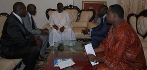 Diaspora: Une délégation de l'Asosciation Diaposen reçue par le Président Macky SALL.