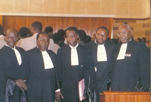 Archives Photo: Admission de Me Alioune Badara Cissé au barreau du Sénégal