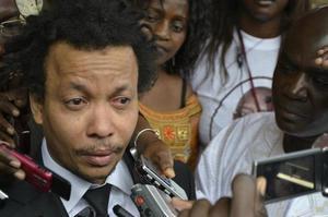 Souleymane Jules Diop reçu par Serigne Mansour Sy, khalif général des Tidjanes