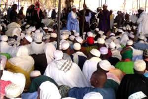 70ème édition du Dakaa de Médina Gounass : Le Khalife Thierno Amadou Bâ prie pour la paix en Casamance et dans la sous-région