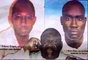 la photo des deux victimes de Médinatoul Salam