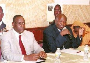 Me Cissé chargé d'un message personnel de Macky sall adressé au président Mohamed Ould Abdel Aziz