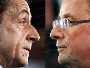 Sarkozy / Hollande. Vivement le débat du 2 Mai 2012.