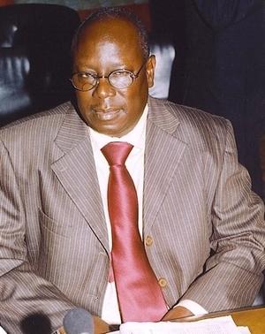 M. Mbacké GUEYE, le Chef du Centre de Documentation et des Archives de l'OMVS