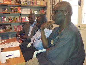 Saint-Louis: Les écrivains Felwine Sarr et Boubacar Boris Diop ouvrent la maison d'édition ''Jimsaan''