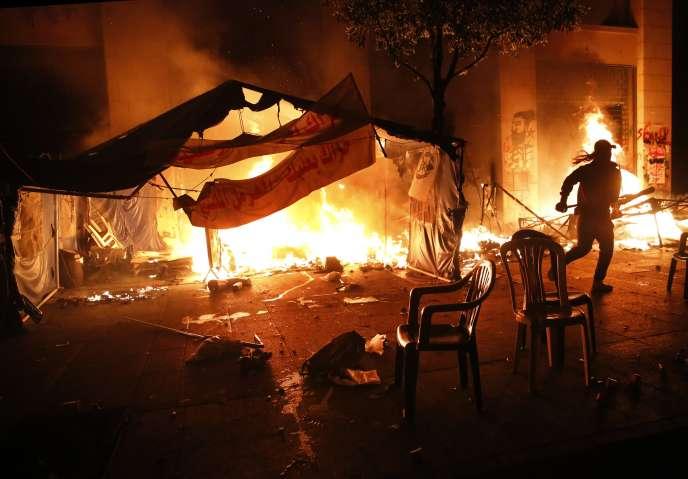 Week-end de violence au Liban face à l'inertie du gouvernement
