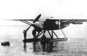 Le 13 mai 1930,  Jean Mermoz à bord d'un hydravion Latécoère, reliait Saint-Louis du Sénégal à Natal(Brésil), en 52 heures