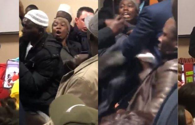 Londres : la dame qui avait chahuté Macky Sall, violemment agressée par des nervis