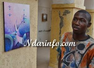 Abdou Karim Fall, le nouveau pinceau de Saint-Louis