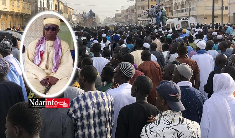 THIAKA NDIAYE : Une impressionnante foule accompagne Zeynou Abidine DIOP (photos)