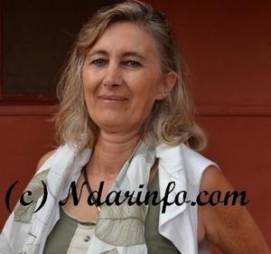 Mme Dominique Dellicour, chef de délégation de l'Union européenne au Sénégal