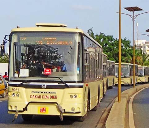 Coronavirus : Dakar Dem Dikk arrête son réseau interurbain et promet un service minimum à Dakar