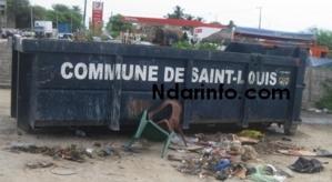 INSALUBRITE A SAINT-LOUIS : Le bord du fleuve devenu un déversoir d'ordures et d'eaux usées