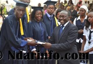 Saint-Louis:  ''12 000 jeunes d'Afrique ont obtenu un diplôme de l'ISM '', déclare Amadou Diaw.