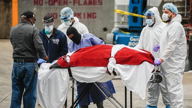 Coronavirus : près de 1 200 morts aux États-Unis en 24 heures, du jamais vu