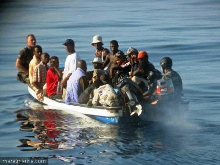 Rosso Sénégal : un piroguier sénégalais convoyant des Mauritaniens arrêté