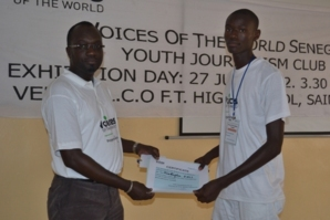 Saint-Louis : Le Club ''Voices of The World'' initie des jeunes au journalisme
