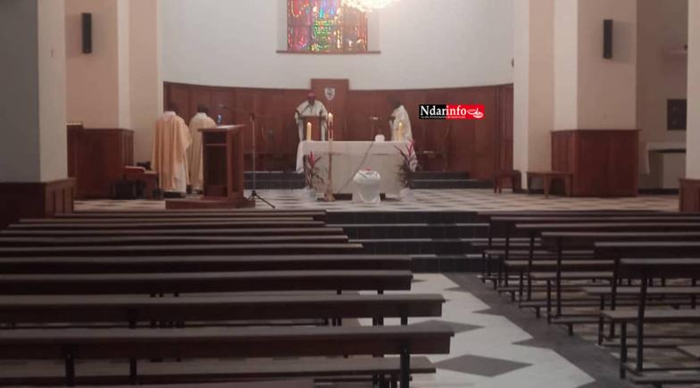 Covid-19 – Pâques : À Saint-Louis, l'Église appelle à vivre dans la Foi et l'Espérance.