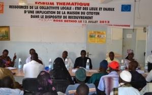 Saint-Louis - Gouvernance locale : La Safefod plaide pour le renforcement des ressources financières issues des recouvrements