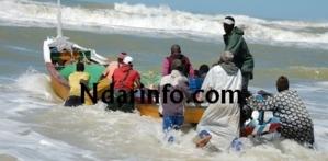 Nouadhibou : Deux portés disparus suite à une collision entre un bateau et une pirogue.