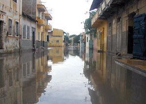 Dernieres minutes : Une forte pluie s'abbat sur Saint-Louis