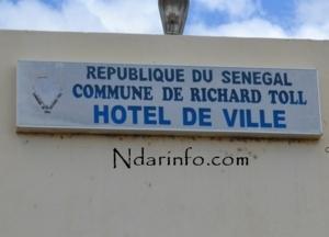 Partenariat Conseil général du Nord/Gic de Dagana: La Mairie de Richard- Toll informatisée
