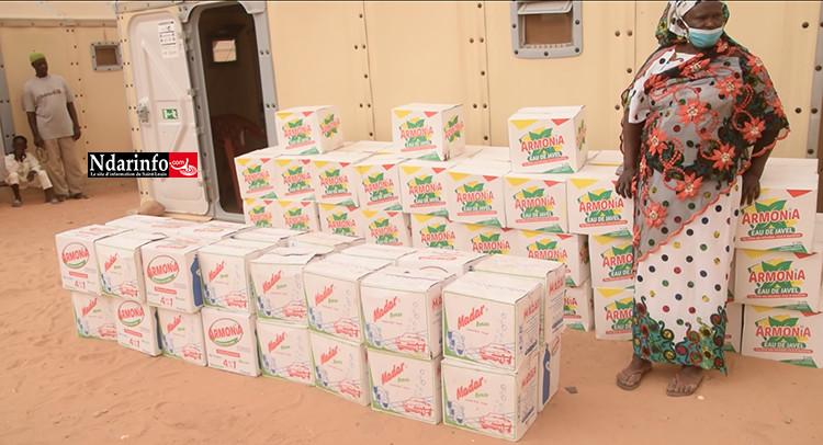 Covid-19/Djougob : Un important appui de l'ADM aux populations sinistrées (vidéo)