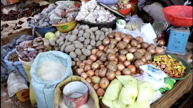 Saint-Louis : le marché bien approvisionné en produits de consommation courante