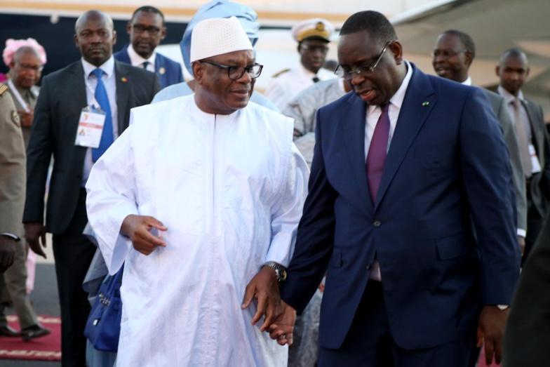 Crise politique malienne : Macky Sall à Bamako