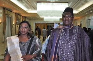 Me Ousmane Ngom et son épouse Aline Corréa Ngom