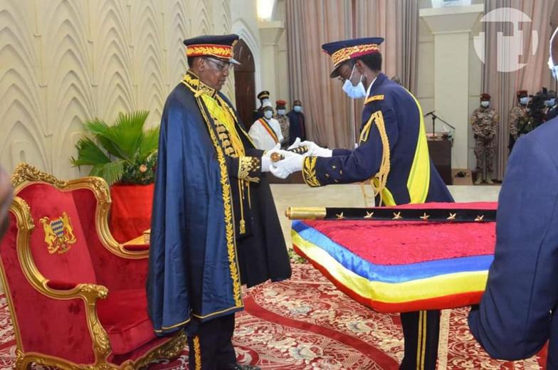Idriss Déby, le président tchadien, est devenu officiellement maréchal