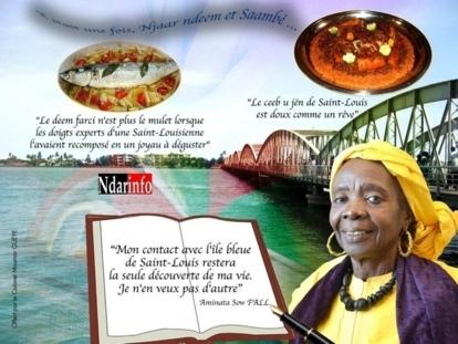 Journée Internationale de l'Ecrivain Africain: Le Colonel Moumar Guèye honore l'ecrivain Aminata Sow Fall.
