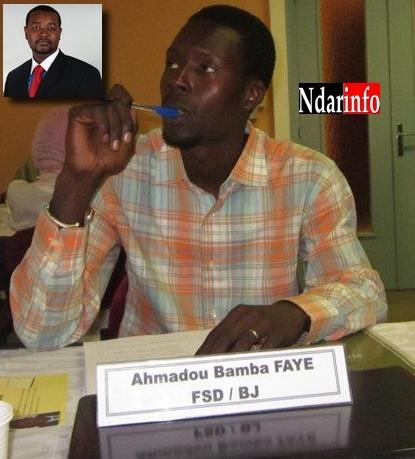 Saint-Louis : Le FSD/BJ met en garde Amadou François Gaye : ''Il joue avec le feu'', déclare Ahmadou Bamba Faye.