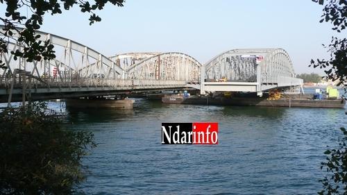Travaux d'entretien du pont Faidherbe dans la nuit du dimanche.