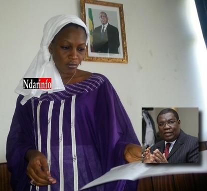 Saint-Louis: Les jeunes de l'Apr listent les biens de Me Ousmane Ngom.