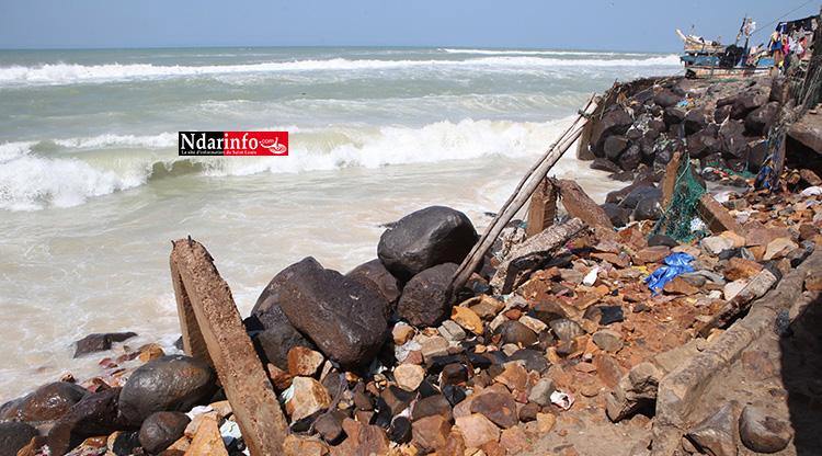 Langue de Barbarie : lancement d'actions de sensibilisation sur la digue de protection côtière (vidéo)