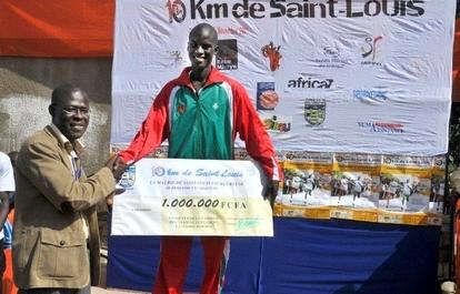 10km de Saint-Louis: Une prime d'1 million 500 mille FCFA sera remise au  vainqueur (communiqué).