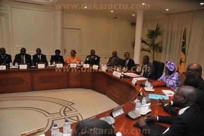 Communiqué du Conseil des Ministres de ce Jeudi 29 Novembre 2012.