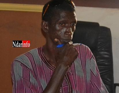 Atoumane Kane Sy, le Secretaire général de la section communale de la Fédération Nationale des  personnes handicapées.