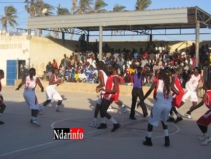 Basket Ball Féminin National I : 2ème journée : Le Saint-Louis basket club et l'UGB assurent leurs supporteurs
