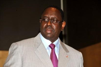 Arrivée du président Macky Sall à Louga