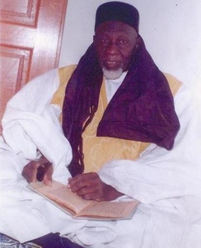 Hommage de la Hadara Serigne El Hadji Madior CISSE (RTA) à l'Imam El Hadji Birahim FAYE.