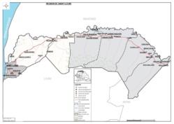 Voici la nouvelle carte administrative de la région de Saint-Louis( téléchargeable).