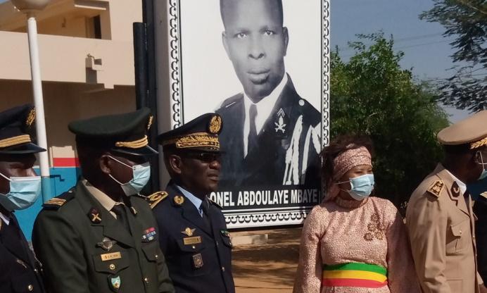 Podor : La caserne de la 53e compagnie baptisée au nom de feu Colonel Abdoulaye Mbaye